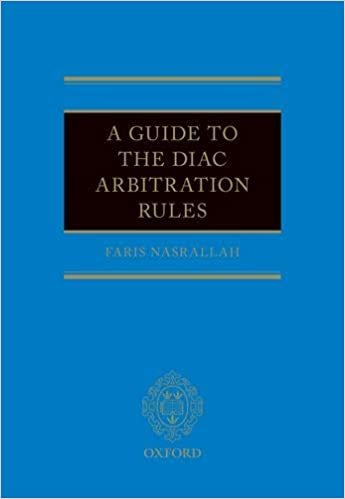 A Guide to the Diac Arbitration Rules