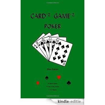 Cardz Gamez Poker [Kindle-editie]