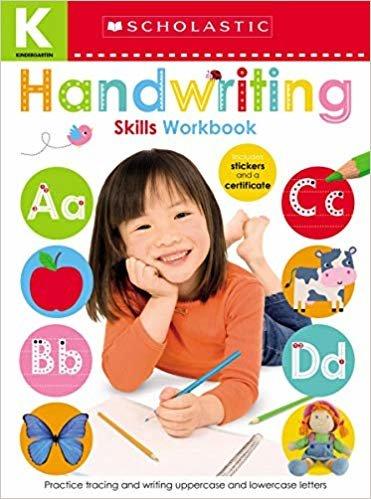 Kindergarten Skills Workbook: Handwriting (Scholastic Early Learners)