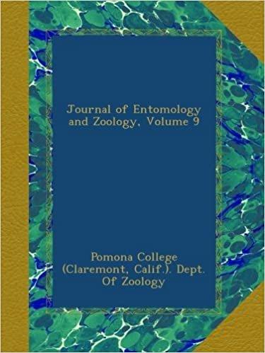 Journal of Entomology and Zoology, Volume 9