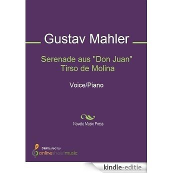 """Serenade aus """"Don Juan"""" Tirso de Molina [Kindle-editie]"""