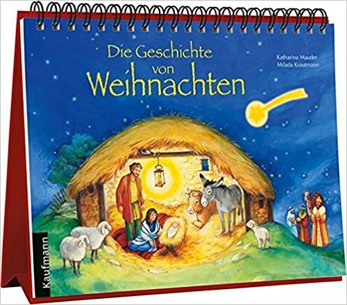 Die Geschichte von Weihnachten: Aufstell-Adventskalender