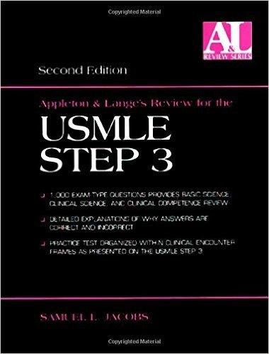Appleton & Lange's Review for the Usmle Step 3 (Appleton & Lange's Review Series.)