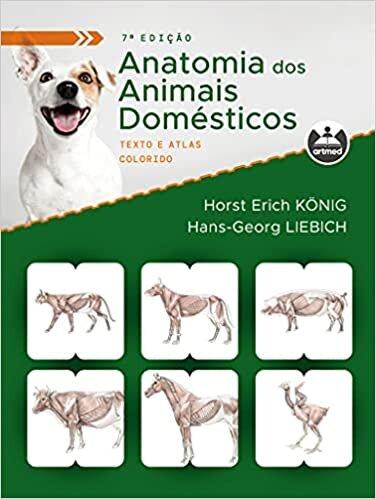 Anatomia dos Animais Domésticos: Texto e Atlas Colorido