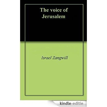 The voice of Jerusalem (English Edition) [Kindle-editie]