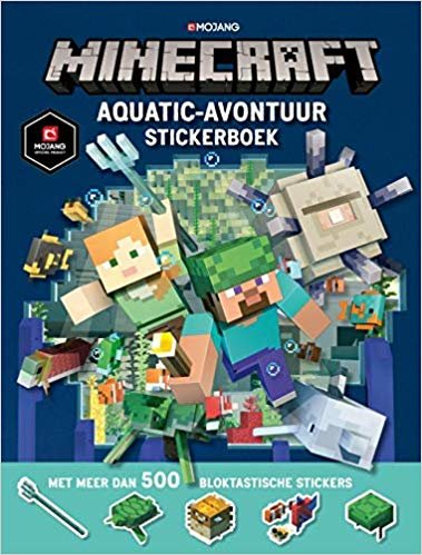 Minecraft Aquatic Survival stickerboek