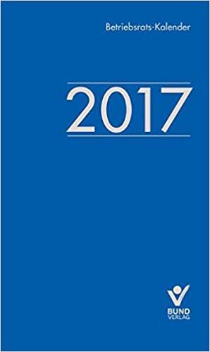 Betriebsrats-Kalender 2017