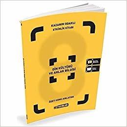 8.Sınıf Din Kültürü ve Ahlak Bilg Etkinlik Kitabı - Hız Yayınları