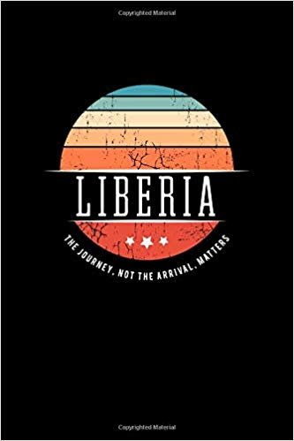 Liberia: Vintage World Travel Keepsake Blank Journal Notebook