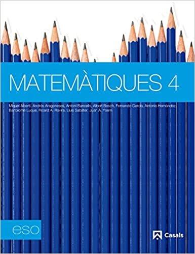 Matemàtiques, 4 ESO