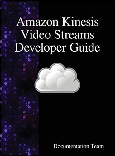 Amazon Kinesis Video Streams Developer Guide