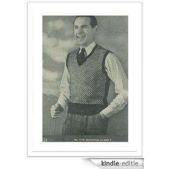 #2411 YALE VINTAGE KNITTING PATTERN (English Edition) [Kindle-editie]