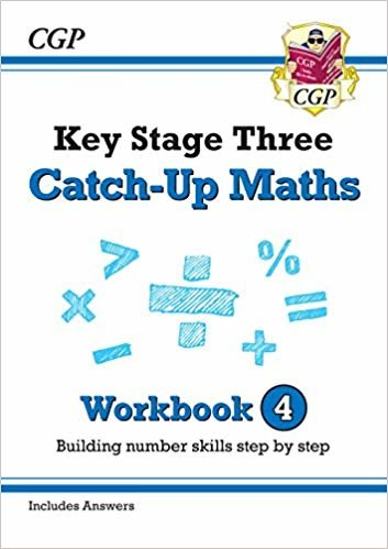 New KS3 Maths Catch-Up Workbook 4 (with Answers)