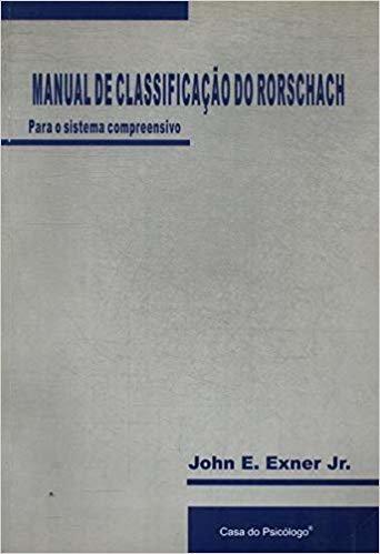 Manual de Classificação do Rorschach Para o Sistema Compreensivo