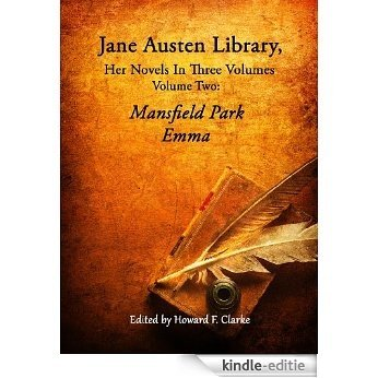 Jane Austen Library, Vol. 2: Mansfield Park, Emma (Jane Austen Library, Her Novels in Three Volumes) (English Edition) [Kindle-editie]