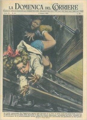 Presso la stazione di Rifredi una bimba di Macerata precipita dal treno in corsa, cavandosela miracolosamente.