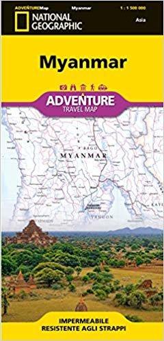 Myanmar (Birmania) 1:1.500.000