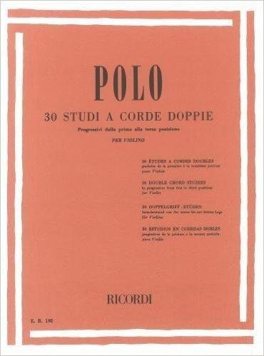 30 STUDI A CORDE DOPPIE - VIOLINO