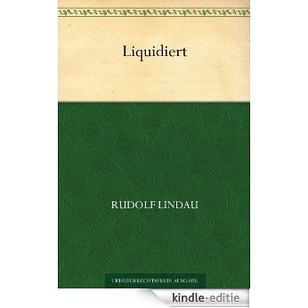Liquidiert (German Edition) [Kindle-editie]