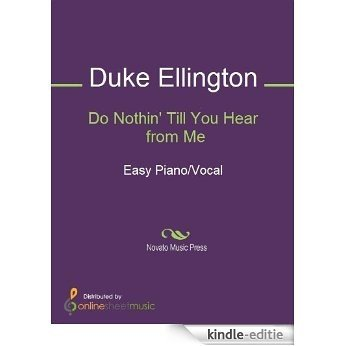 Do Nothin' Till You Hear from Me [Kindle-editie]