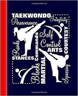 Taekwondo: Diary Weekly Spreads July to June (Academic Planners 2019 - 2020)