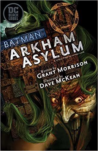 Batman: Arkham Asylum: DC Black Label Edition)