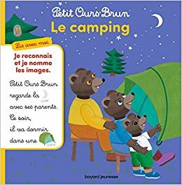 Petit Ours Brun, lis avec moi - Le camping