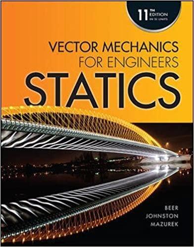 Beer, F: Vector Mechanics for Engineers: Statics