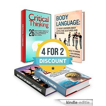 Critical Thinking And Body Language Box Set: 40 Effective Tools to Develop Competence for Critical Thinking and 32 Most Common Body Language Gestures to ... critical thinking skills) (English Edition) [Kindle-editie]