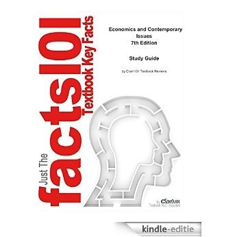 e-Study Guide for: Economics and Contemporary Issues by Ronald L. Moomaw, ISBN 9780324321661 [Kindle-editie]