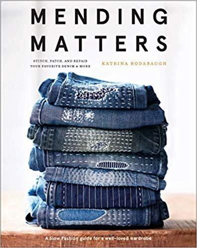 Mending Matters: Repair and Renew Favorite Denim and More with Sa