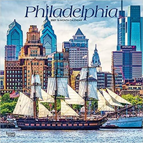 Philadelphia 2021 - 16-Monatskalender: Original BrownTrout-Kalender [Mehrsprachig] [Kalender] (Wall-Kalender)