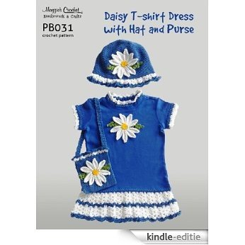 Crochet Pattern Daisy T-shirt Dress PB031-R (English Edition) [Kindle-editie]