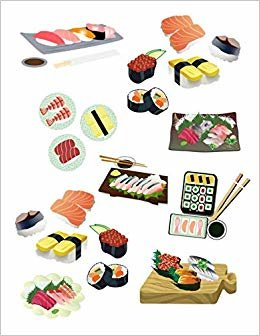 Sushi Notebook: Funky Notebook Novelty Gift for Sushi Lovers