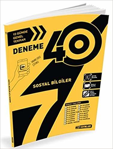 7. Sınıf Sosyal Bilgiler 40'lı Deneme