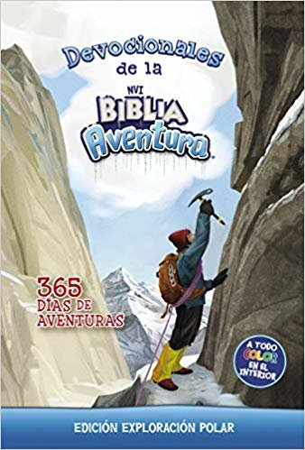 Devocionales de la Biblia Aventura Nvi: Edición Exploración Polar: 365 Días de Aventuras (Adventure Bible)