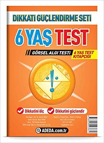 Dikkati Güçlendirme Seti Yaprak Test 6 Yaş