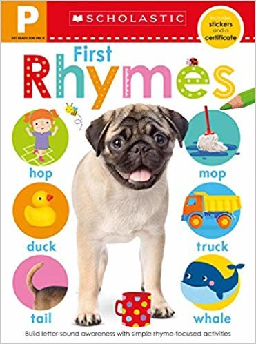 Get Ready for Pre-K Skills Workbook: First Rhymes (Scholastic Early Learners)