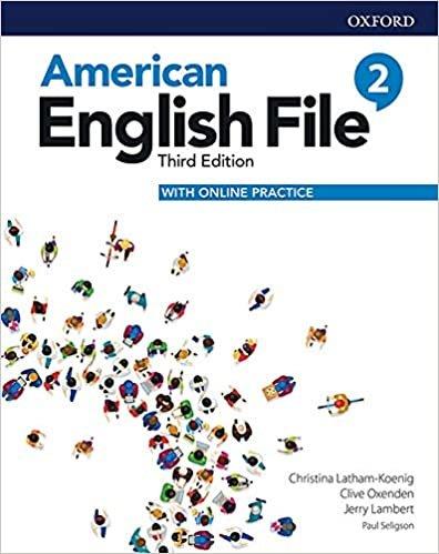 American English File 2 Student Book Pk - 03Edition