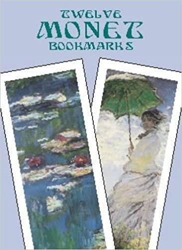 Twelve Monet Bookmarks (Dover Bookmarks)