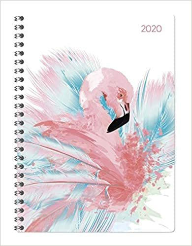 Ladytimer Ringbuch Flamingos 2020
