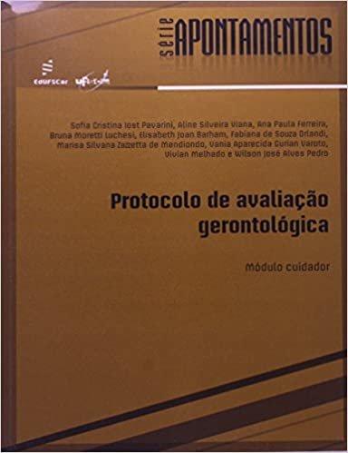 Protocolo de Avalição Gerontológica: Módulo Cuidador