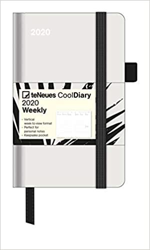 Diary - Stone Grey/Palm Leaf 2020 Small Cool Diary