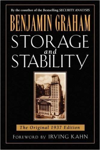 Storage and Stability: A Modern Ever-normal Granary