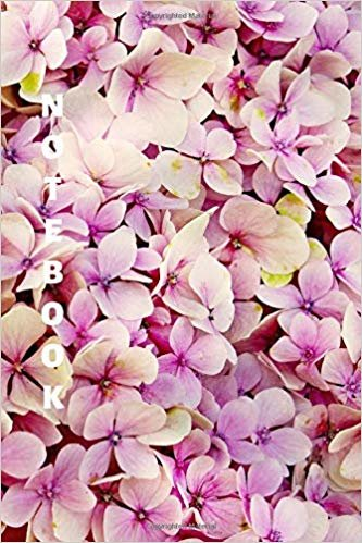 Notebook: Flower Lined Notebook & Journal for Writing (110 pages, College Ruled, 6 x 9 inches, Matte, Colorful Cover) (Classic Notebooks)