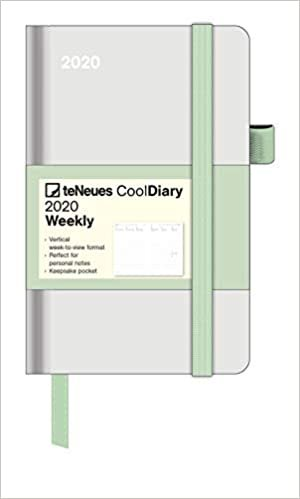 Diary - Grey/Neo Mint 2020 Small Cool Diary