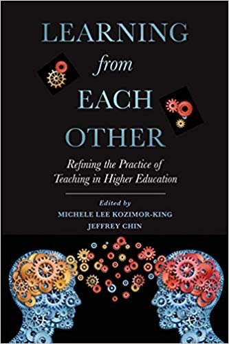 Learning from Each Other: Refining the Practice of Teaching in Higher Education