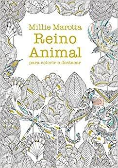 Reino animal para colorir e destacar