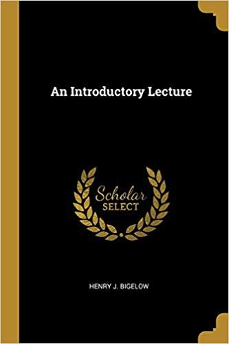 An Introductory Lecture