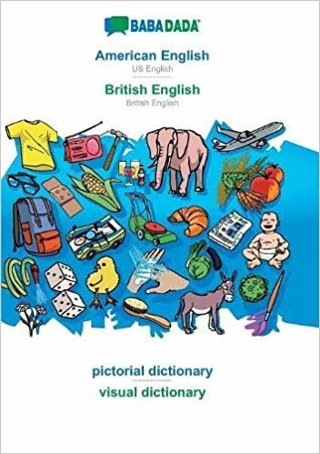 BABADADA, American English - British English, pictorial dictionary - visual dictionary